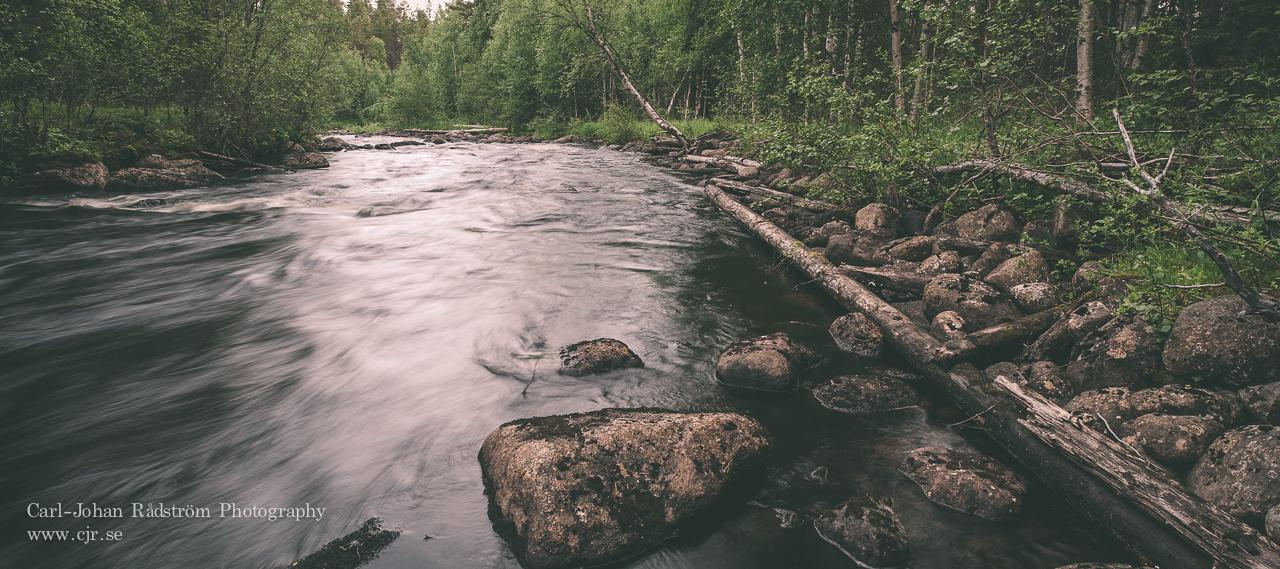 Panorama of Kvällån, Åsele