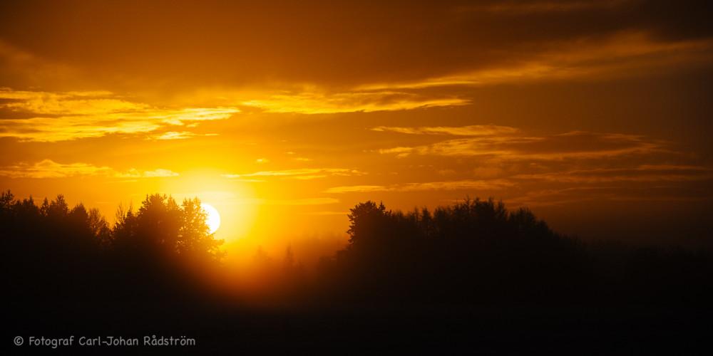 Soluppgång den 23 december