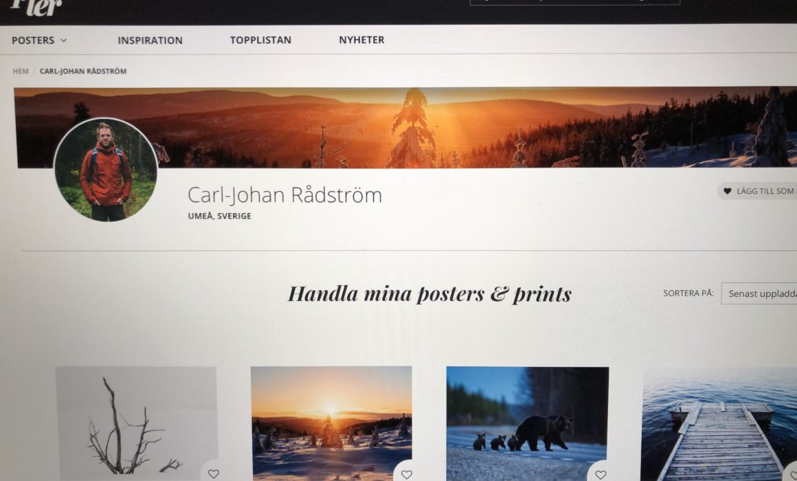 Carl-Johan Rådström wall art on Printer.com
